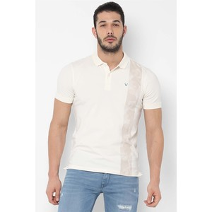Allen Solly Men's Polo T Shirt S/S ALKPARGF647034 Off White