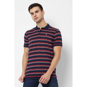 Allen Solly Men's Polo T Shirt S/S ALKPARGFU81098 Navy