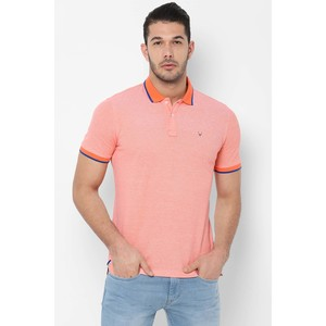 Allen Solly Men's Polo T Shirt S/S ALKPARGFO12458 Peach