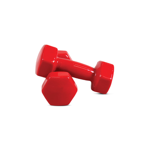 Sports Champion Vinyl Dumbbell A008 1Kg Assorted Color
