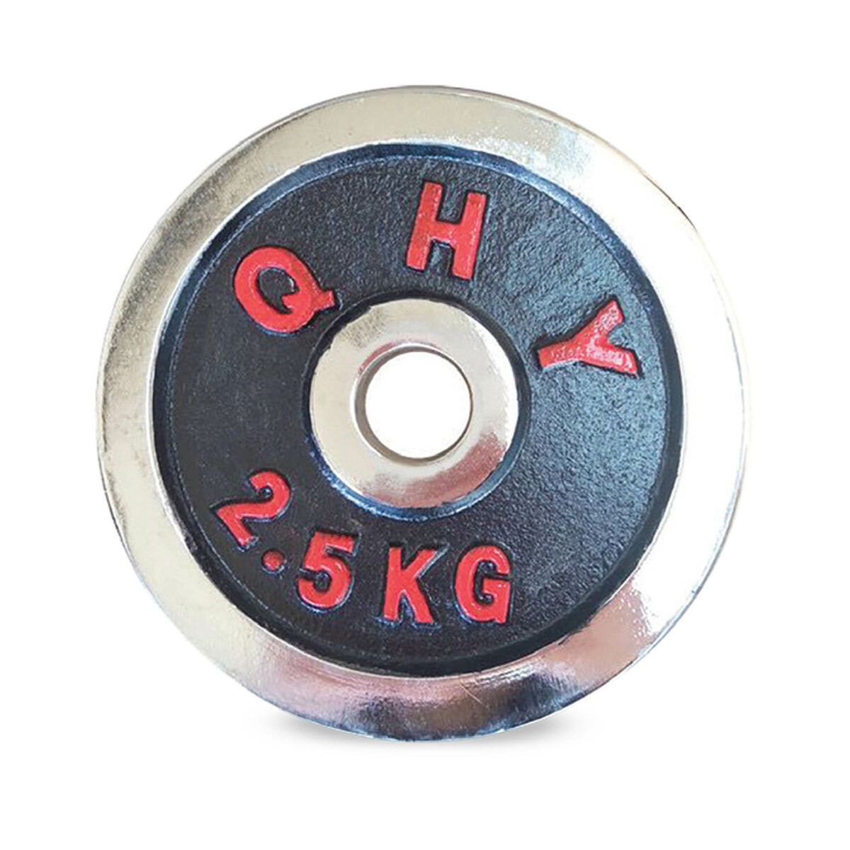 - Sports Champion HJ-A140 Chrome Weight Plate 2.5KG