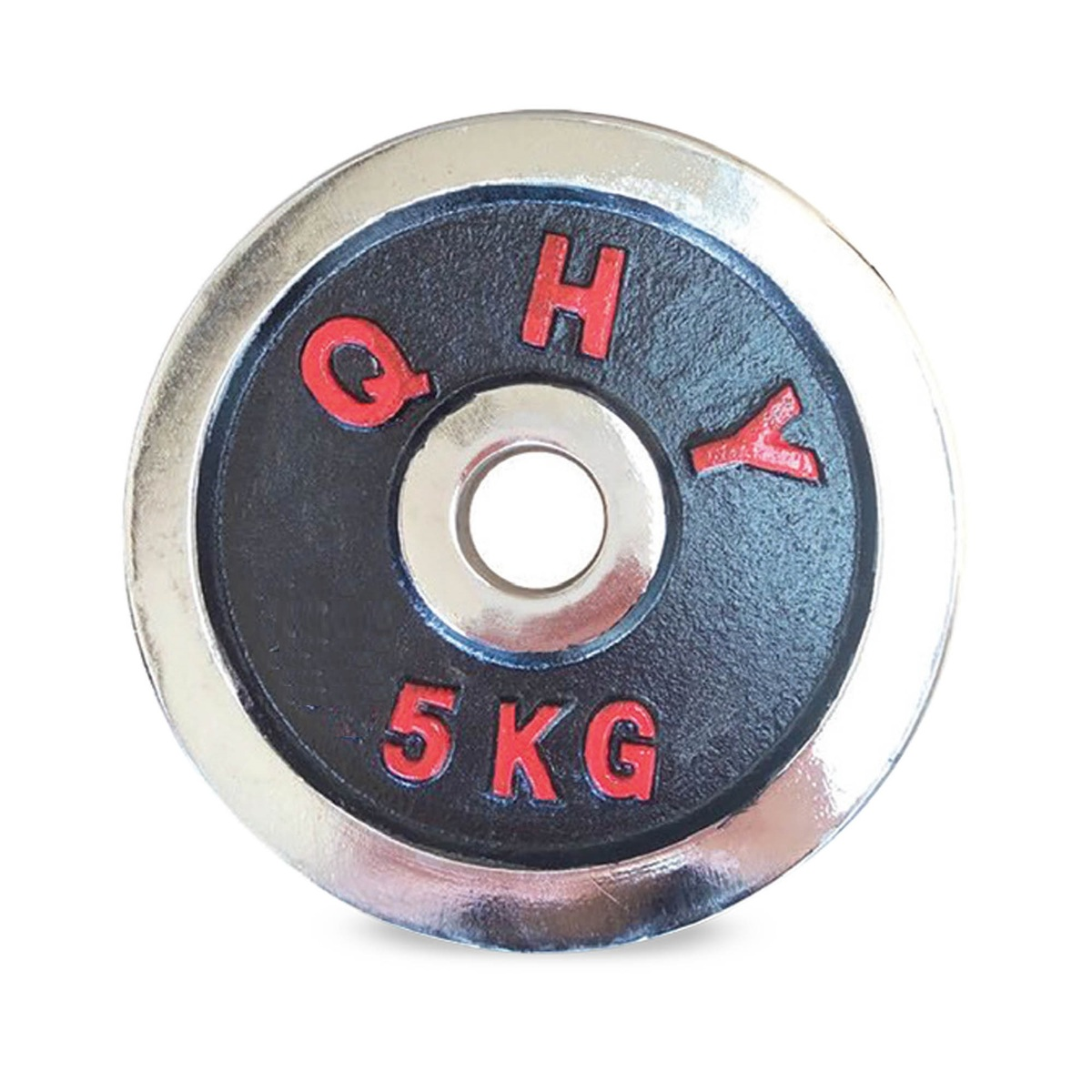 - Sports Champion HJ-A141 Chrome Weight Plate 5KG