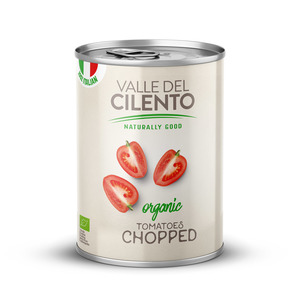 Valle Del Cilento Organic Chopped Tomatoes 400g