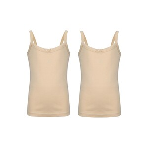 Debackers Girls Inner Camisole Pack of 2 Skin GCMF04