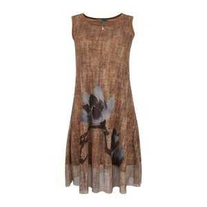 Debackers Women's Top Sleeveless MW92345B Brown