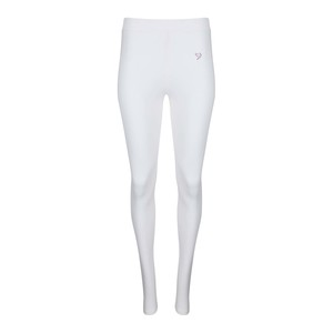 Twin Birds Women's Long Leggings Pearl White