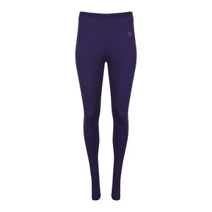 Twin Birds Women's Long Leggings Deep Purple