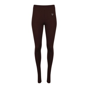 Twin Birds Women's Long Leggings La Burgundy