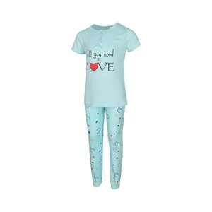 Eten Girls Pyjama Set Short Sleeve DJ-844
