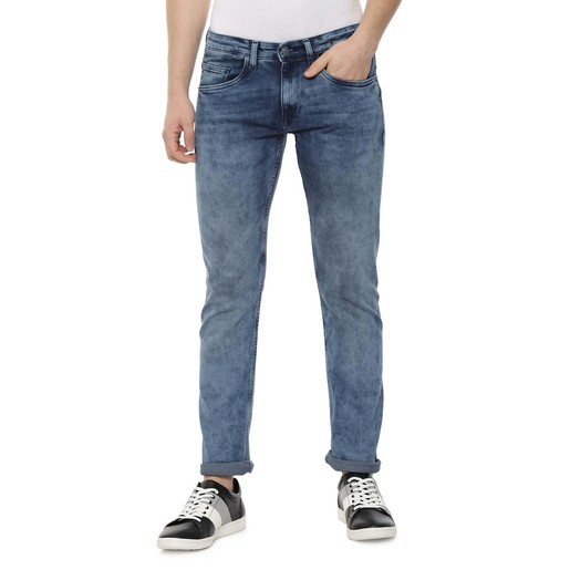 Allen Solly Men's Jeans ALDNVSLB785882 Medium Blue107 32