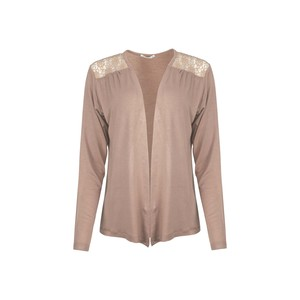 Eten Women's Bolero Long Sleeve SHW601 Beige