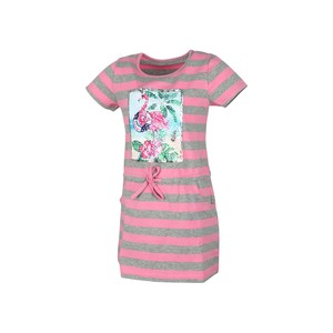 Eten Girls Dress Short Sleeve MFG-16 Pink 2-8Y