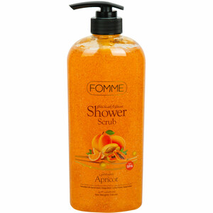 Fomme Shower Gel Scrub Apricot 730ml