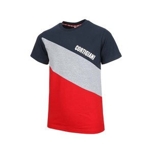 Cortigiani Boys T-Shirt Round-Neck Short Sleeve 45C34101