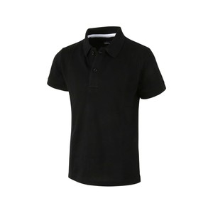 Eten Boys Basic Polo T-Shirt Short Sleeve BTRMY034 Black 10-16Y