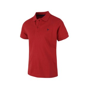 Eten Boys Basic Polo T-Shirt Short Sleeve TGPH09 Red 10-16Y