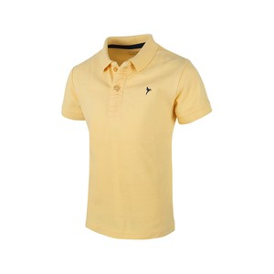 Eten Boys Basic Polo T-Shirt Short Sleeve TGPH12 Yellow 10-16Y
