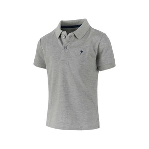 Eten Boys Basic Polo T-Shirt Short Sleeve TGPH516 Grey 10-16Y