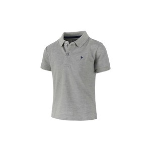 Eten Boys Basic Polo T-Shirt Short Sleeve TGPH508 Grey 2-8Y