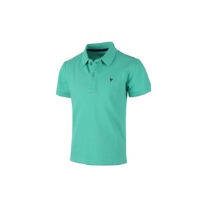 Eten Boys Basic Polo T-Shirt Short Sleeve TGPH502 Green 2-8Y