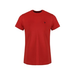 Eten Boys Basic T-Shirt Round-Neck Short Sleeve H09 Red 10-16Y