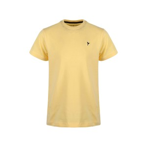 Eten Boys Basic T-Shirt Round-Neck Short Sleeve H312 Yellow 10-16Y