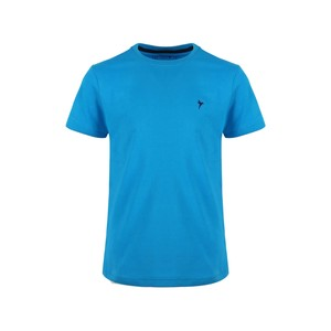 Eten Boys Basic T-Shirt Round-Neck Short Sleeve H411 Blue 10-16Y