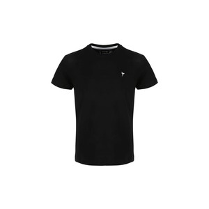 Eten Boys Basic T-Shirt Round-Neck Short Sleeve H07 Black 2-8Y