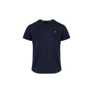 Eten Boys Basic T-Shirt Round-Neck Short Sleeve H301 Navy 2-8Y