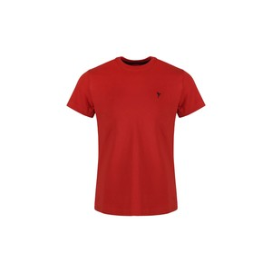 Eten Boys Basic T-Shirt Round-Neck Short Sleeve H01 Red 2-8Y