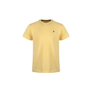 Eten Boys Basic T-Shirt Round-Neck Short Sleeve H03 Yellow 2-8Y