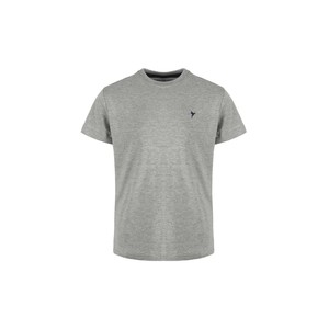 Eten Boys Basic T-Shirt Round-Neck Short Sleeve H05 Grey 2-8Y