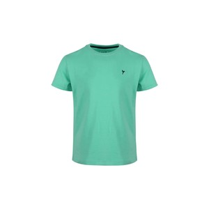 Eten Boys Basic T-Shirt Round-Neck Short Sleeve H407 Green 2-8Y
