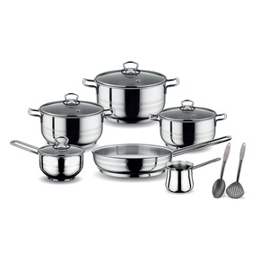 Prestige Stainless Steel Cookware Set 12pcs PR80952