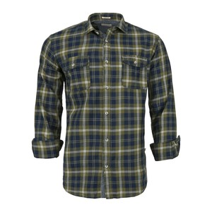 Cortigiani Men's Casual Shirt Long Sleeve CT164 Olive