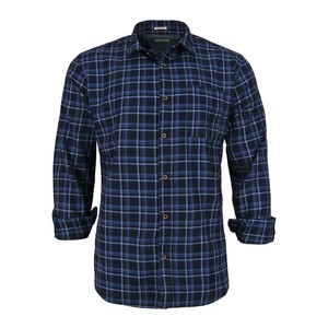 Cortigiani Men's Casual Shirt Long Sleeve CT165 Navy