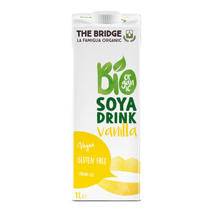 The Bridge Bio Organic Soya Drink Vanilla 1Litre