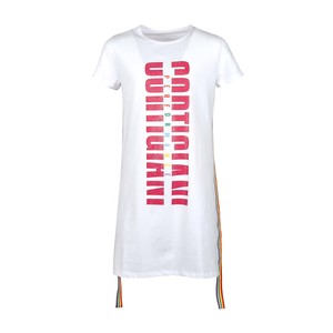 Cortigiani Girls T-Shirt Round-Neck Short Sleeve IGR-28 White 10-16Y