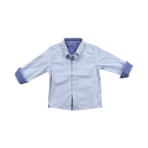 Cortigiani Infants Boys Shirt Long Sleeve Blue 6M-24M