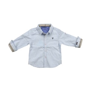 Cortigiani Infants Boys Shirt Long Sleeve Sky 6M-24M