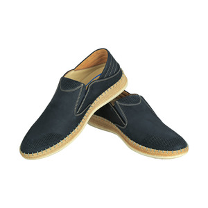 Dr.Jells Men's Leather Casual Shoes 0Y9624107 Navy