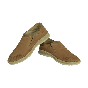 Dr.Jells Men's Leather Casual Shoes 0Y9624107 Light Brown