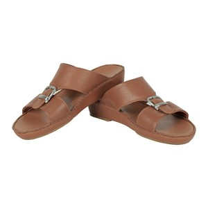Cortigiani Men's Leather Arabic Sandal M-2138 Tan