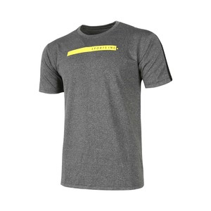 Sports Inc Men's Active Wear Round Neck T Shirt S/S T149 Grey