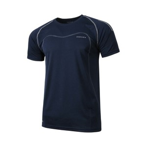 Sports Inc Men's Active Wear Round Neck T Shirt S/S T135 D.Blue