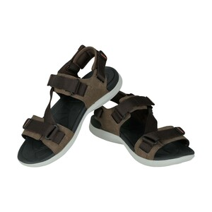 Sports Inc Mens Sports Sandals YK1901M Dark Brown