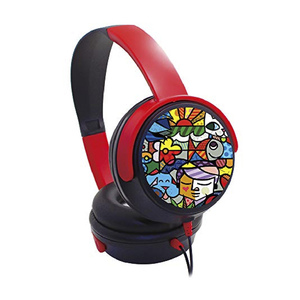 Trands Over-Ear Foldable and Wired Kids Headset with 3.5mm Plug Microphone, HS997