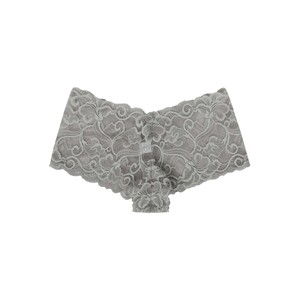 Cortigiani Women's Lace Boxer Brief 23-19006 Mocca