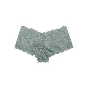 Cortigiani Women's Lace Boxer Brief 23-19006 Mint Green