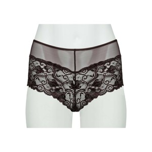 Cortigiani Women's Lace Boxer Short 23-19014 Wine